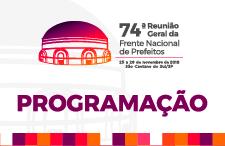 74ª Reunião Geral da FNP - Programação
