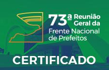 Certificados 73ª Reunião Geral