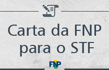 Banner Carta FNP ao STF