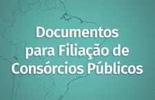 Filiação Consórcios Públicos