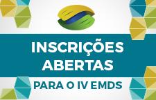 Inscrições no IV EMDS